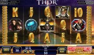 играть в автомат Thor The Mighty Avenger